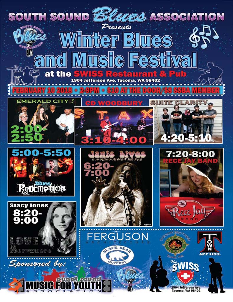Winter Blues And Music Festival South Sound Blues Association